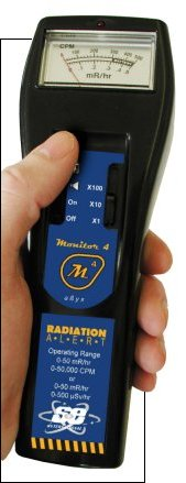 geiger counters, ionizing radiation detectors