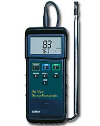 A picture Heavy Duty Hot wire Thermo-Anemometer